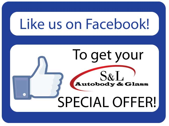 S & L Autobody and Glass Facebook Special Offer