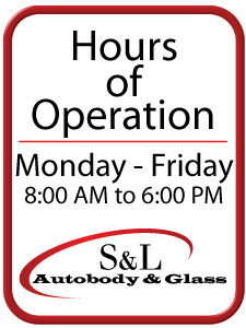 Auto Body Hours of Operation